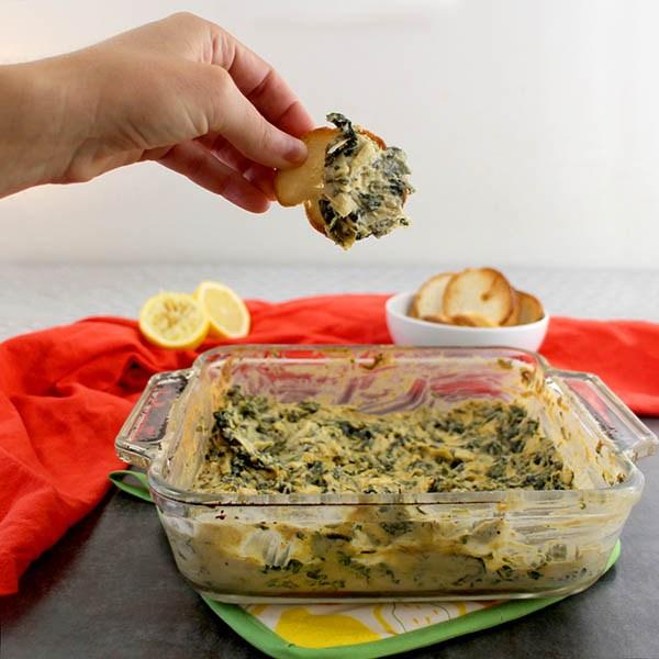 Spinach-Artichoke-Dip-Gluten-Free Glue & Glitter